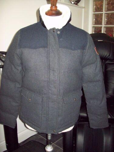 Jacket 12 Taglia Puffa Uk Genfeld Dark Bnwt's Ladies M Grey Genuine wgpXqaBUB