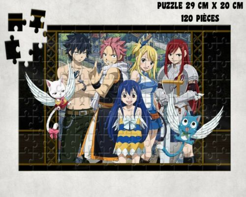 MANGA puzzle FAIRY TAIL