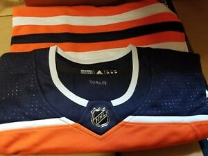 innovative design 2f5cb 01f46 Details about Edmonton Oilers Team & Connor McDavid adidas NHL Men's  adizero Authentic Jersey