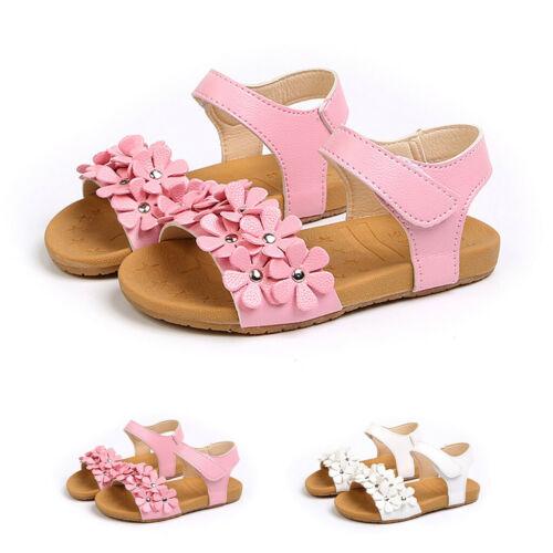⭐Toddler Kids Girls Children Baby Summer Floral Princess Beach Sandals Shoes