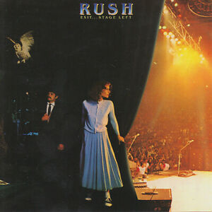 Rush - Exit ... Stage Left - NEW CD (sealed)  Remastered Live Recording