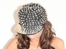 Hedgehog Soike Studded Rivet Hat Snapback Baseball Cap Men Women Punk Adjustable