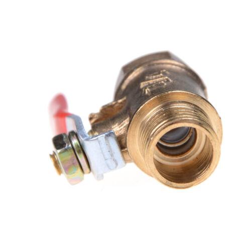 1//4/'/' M//F Full Port Inline Brass Water Air Gas Fuel Line Shut-off Ball Valve WD