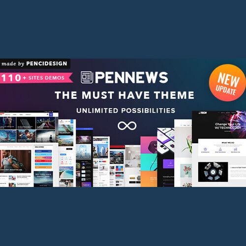 PenNews News// Magazine// Business// Portfolio//Reviews Landing AMP WordPress T...