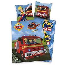 Herding Bettwäsche Kinderbettwäsche Feuerwehrmann Sam Flanell 80/80 135/200 cm