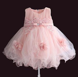 Vestiti Eleganti Bimba 4 Anni.Vestito Bambina Abito Cerimonia Tulle 1 4 Anni Girl Summer Party