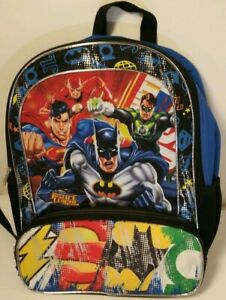 Batman and Superman Justice League Backpack