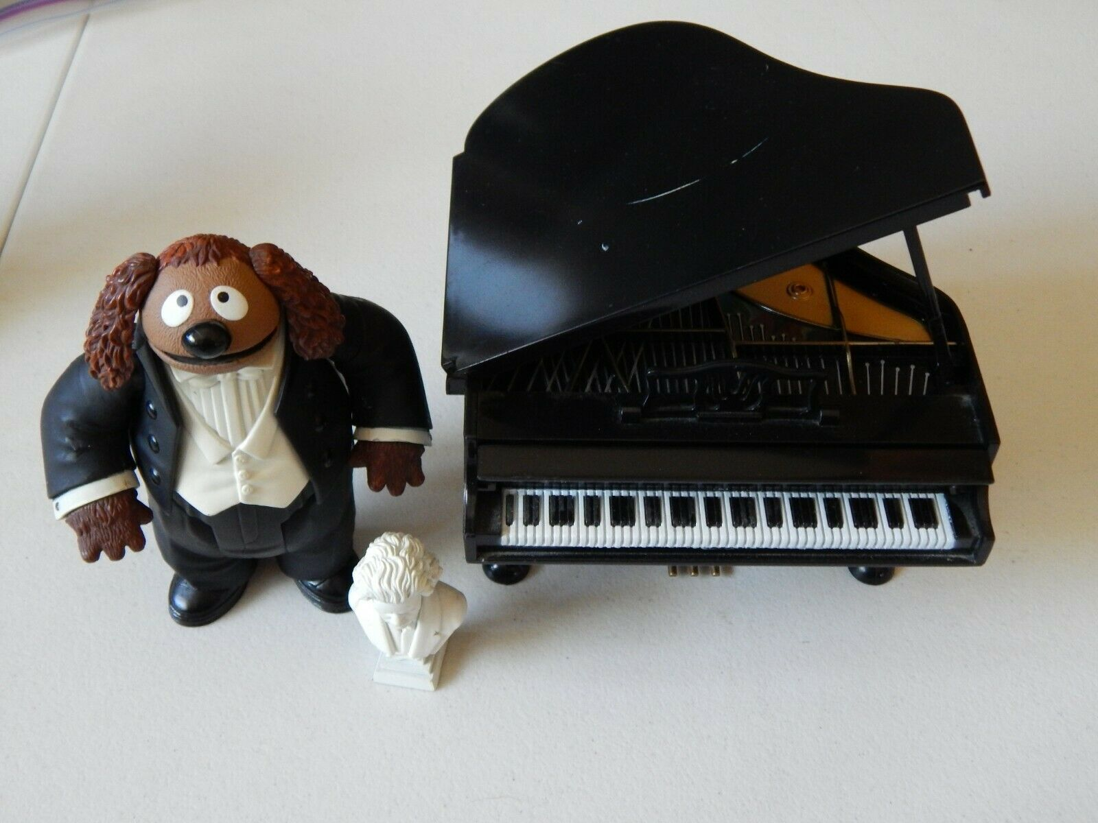 Rowlf Figure with Grand Piano The Muppet Show 25 years Palisades serie 3