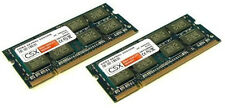 2x 2GB 4GB Ram Toshiba Satellite L300  L300D L350 Speicher DDR2 PC2-5300 667Mhz
