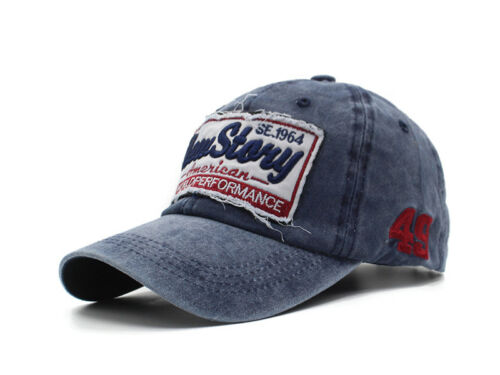 New Story Baseball Cap Trucker Men Vintage Casquette Embroidery Motorcycles