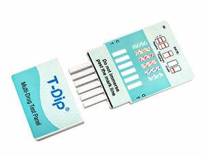 10 Pack 5 Panel Drug Testing Kit - Test for 5 Drugs Home or Work - WDOA-154