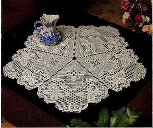 Crochet-Butterfly-Doily-PATTERN-NOT-FINISHED-ITEM