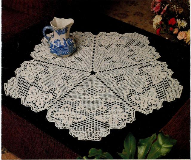 Crochet Butterfly Doily PATTERN (NOT FINISHED ITEM(