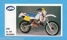 MOTOR SHOW-FIGURINA CLUB n.48- KTM 125 GS/CROSS -NEW