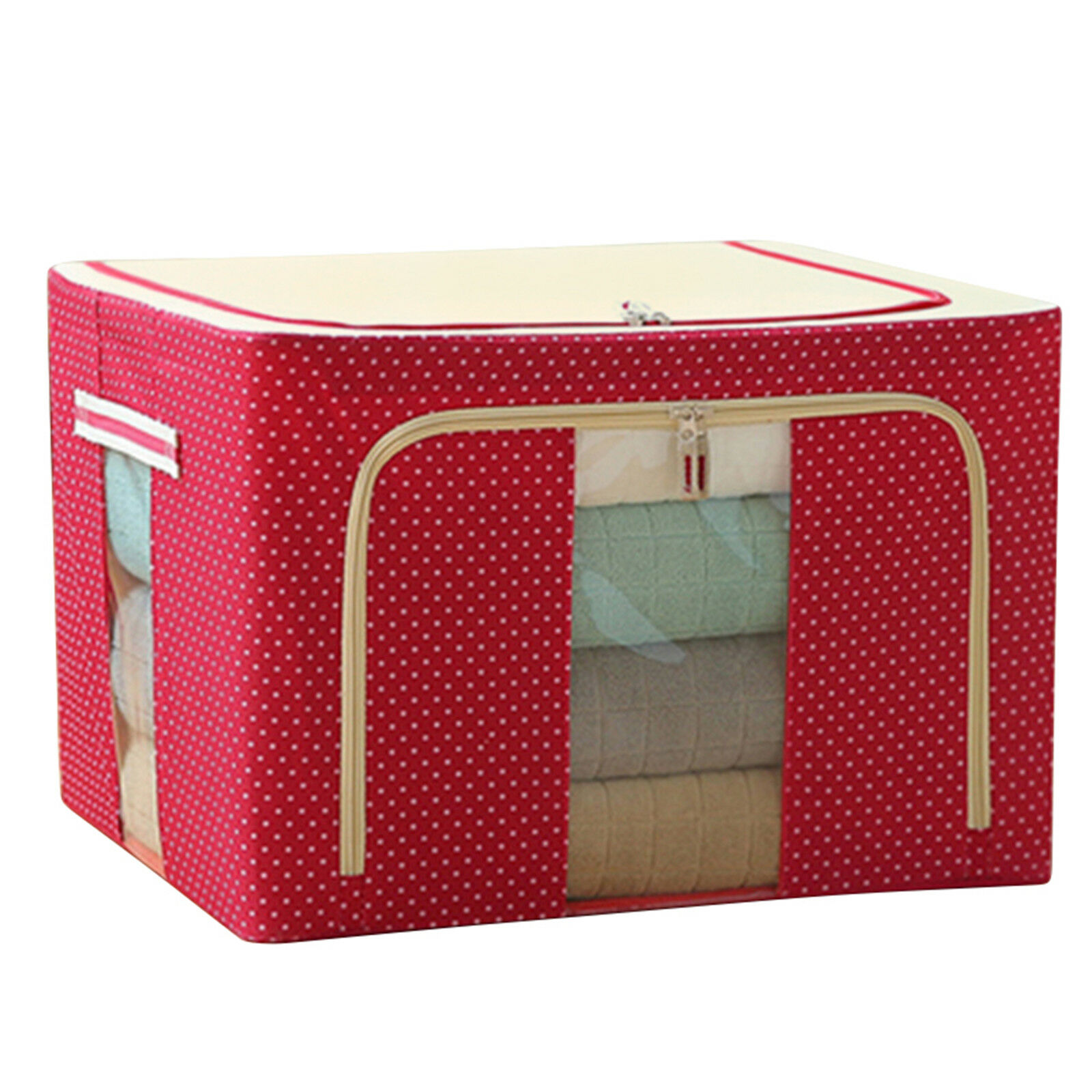160L Large Foldable folding Storage Organizer Box Collapsible Cube Oxford Fabric