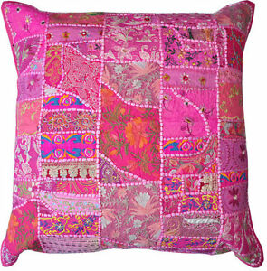 Details About 24x24 Pink Decorative Throw Pillows For Couch Bed Pillows Meditation Pillows