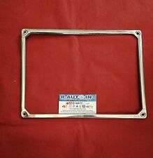 FIAT 600 FIAT 850 900 CORNICE TARGA POSTERIORE CROMATA rear license plate frame