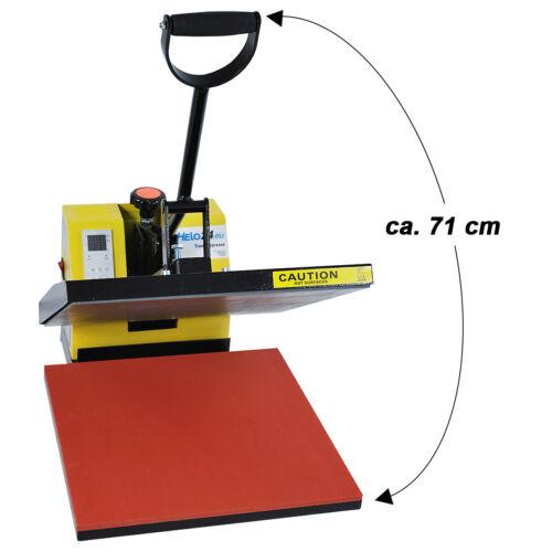 Taschen 7 verschiedene Farben Transferpresse Textilpresse 38x38 Standard