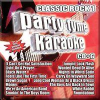 Party Tyme Karaoke Cd - Classic Rock Vol.1 (2016) - Unopened