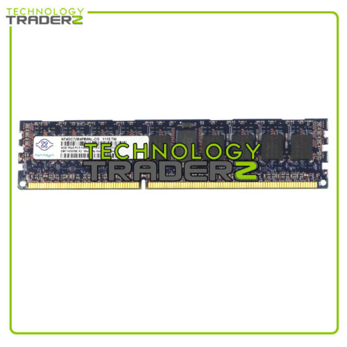 NT4GC72B4PB0NL-CG Nanya 4GB PC3-10600 1333MHz EC REG Single Rank Memory *Pulled*