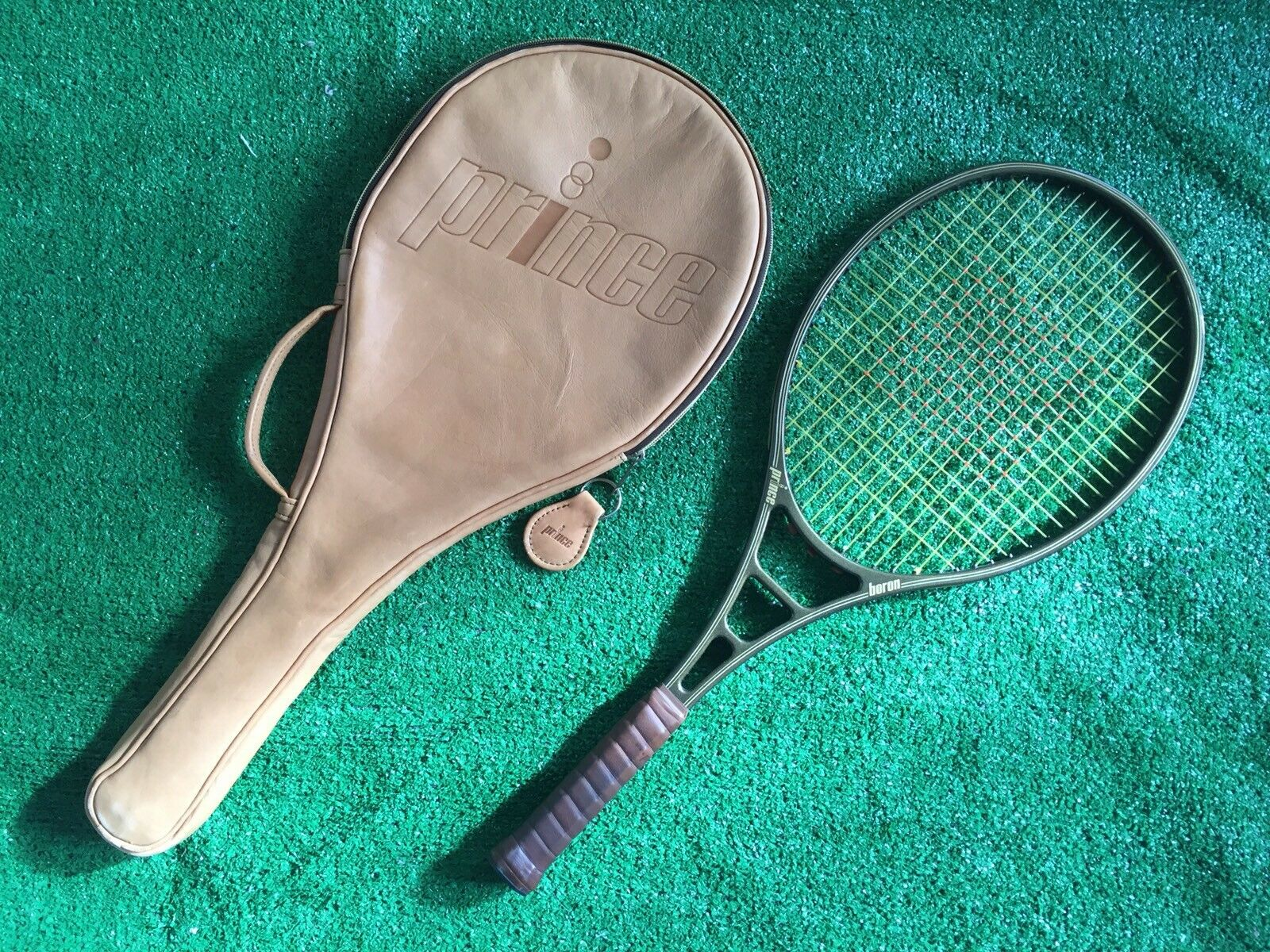 Prince Bgoldn Tennis Racquet 4 3 8 Used
