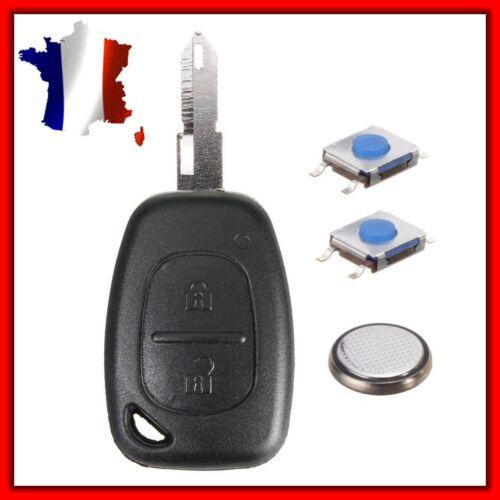 Clé Vierge Switch Pile Coque PLIP Clé Renault Trafic Kangoo Opel Master Vivaro