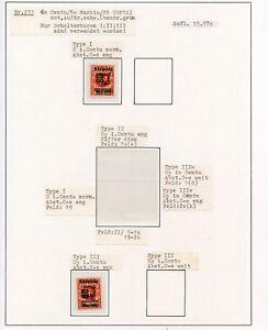 Memel-Nr-233-Studie-auf-2-Albenseiten-Typen-I-und-III-ansehen-C0308
