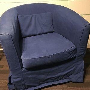 Etonnant Image Is Loading IKEA EKTORP TULLSTA Chair Cover Idemo Blue COVER