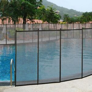 Swimming Pool Fence Safety Baby Water Safe Fencing Section FENCES ...
