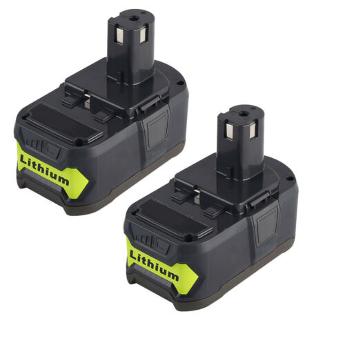 2X 18V 4.0Ah Rechargeable Battery For Ryobi Hot P108 RB18L40 18 Volt Power Tool