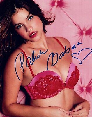 Barbara Palvin Signed Autographed 8x10 Photo Victoria