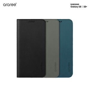low priced 448ab 95c0a Details about Araree Korea Mustang Diary Leather Flip Cover Case for  Samsung Galaxy S8 S8Plus