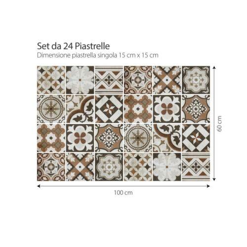 PS00210 Adesivi murali in pvc per piastrelle per bagno e cucina Stickers design