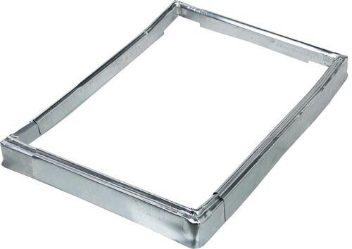 Überhangsteckrahmen für Kamineinfassung Titanzink 9702450