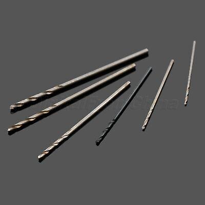 60x Micro HSS Twist Drill Bit 0.5-1.0mm For PCB Plastic Thin Aluminum Iron Plank