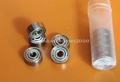 10PCS Miniature deep groove ball bearings 623ZZ 623-2Z 80023 Size 3 * 10 * 4mm