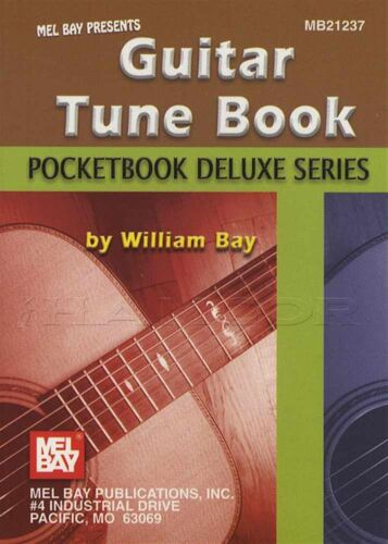 Pocketbook Deluxe Series Guitar Tune Book TAB /& Notation Music Book William Bay