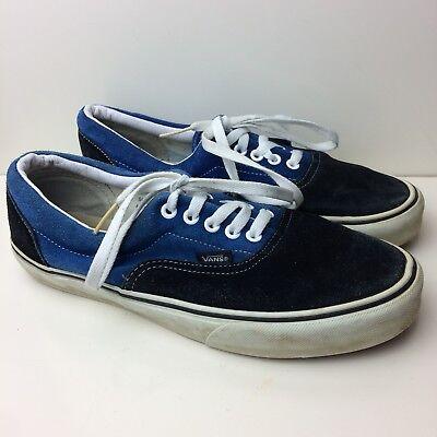vans blue low top