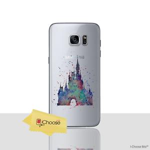 Disney-Fan-Art-Case-Cover-For-Samsung-Galaxy-S6-Screen-Protector-Gel-Castle