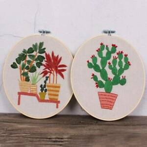 New-Fashion-Cross-Stitch-DIY-Needlework-Embroidery-Kit-Set-For-Beginner-Starter