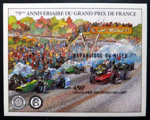 NIGER 1981 Racing Grand Prix Imperf M/Sheet U/M NF832