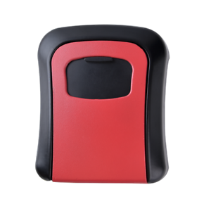 Wall-Mount-Key-Lock-Box-Waterproof-Cash-Security-Box-for-Home-office-Red