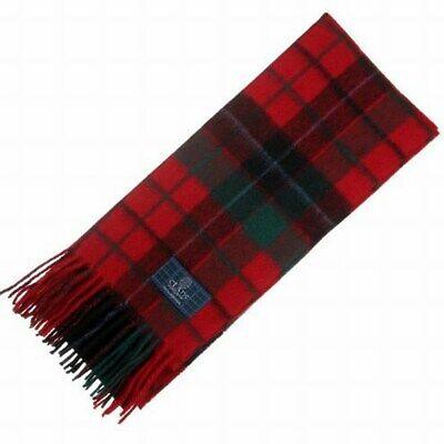 New Long Neck Fashion MacLennan Modern Tartan Scarf Scottish Wool Clan Scarves