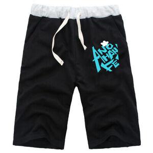 Nuevos Moda Hombres Mujeres Pantalones Cortos Pantalones De Playa Casual Pantalones Cortos Jogger Regalo Anime Anohana Ebay