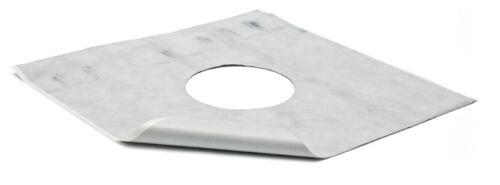 Duschablauf Bodenablauf 122x122 mm DN50 incl Dichtungsmatte 381B+391//1
