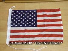 Fahnen Flagge USA Bootsfahne Tischwimpel Biker - 30 x 45 cm