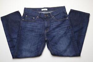 Banana-Republic-Premium-Denim-Womens-Blue-Jeans-Size-31-x-27-Dark-Wash-Straight
