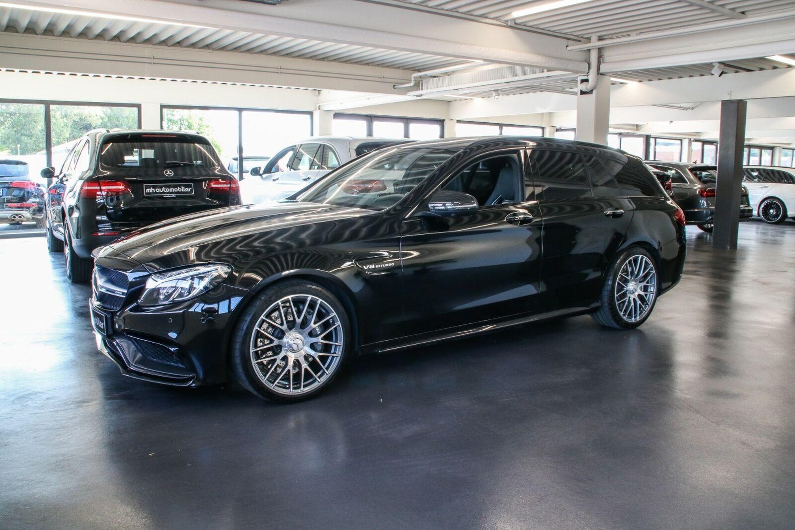 Mercedes C63 4,0 AMG stc. aut. 5d - 2.767 kr.