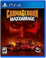 Carmageddon: Max Damage (Sony PlayStation 4, 2016) BRAND NEW / Region Free