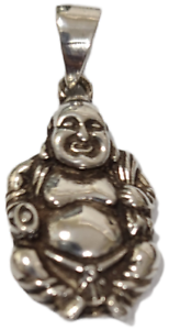 Buddha Pendant 925 Sterling Silver